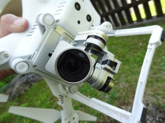 4k camera - gimbal mounted, 3D control