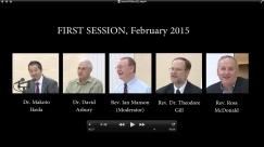 Science & Faith 1st Sesson