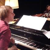 Maël: piano, Fender Rhodes, saxophone alto
