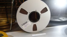 2-inch audio tape