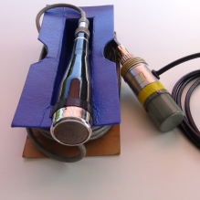 Note the hand-made microphone transformer assembly !