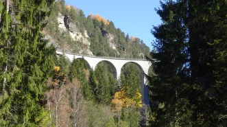 "The main ""Landwasser Viaduct"""