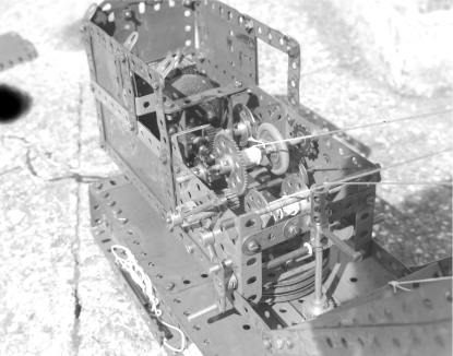 Crane Mechanism B&W