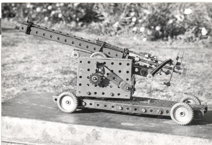 Field gun with active trigger